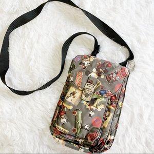 Nicole Miller for Disney Gallery black Mickey bag